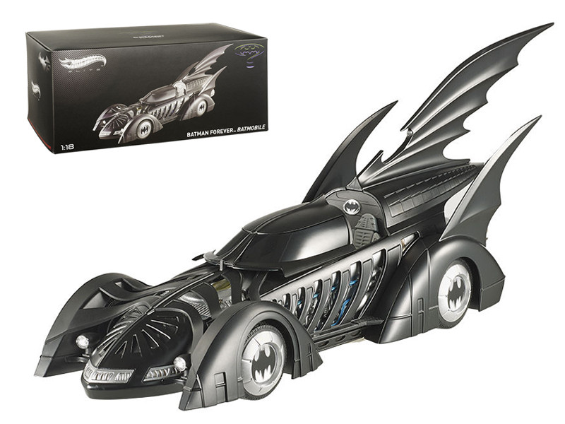 1995 Batman Forever Batmobile Elite Edition 1/18 Diecast Car Model Hotwheels BCJ98