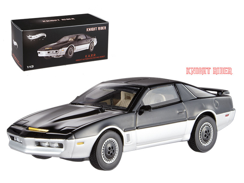 1982 Pontiac Firebird Trans Am K.A.R.R. Knight Automated Roving Robot Elite Edition 1/43 Diecast Model Car Hotwheels BCT87