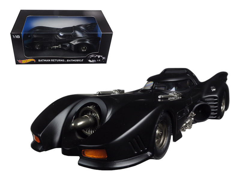 Batman Returns Batmobile 1/18 Diecast Model Car by Hotwheels