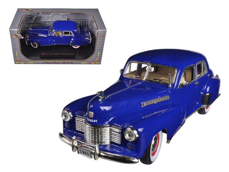 1941 Cadillac Series 60 Special Blue 1/32 Diecast Car Model Signature Models 32357