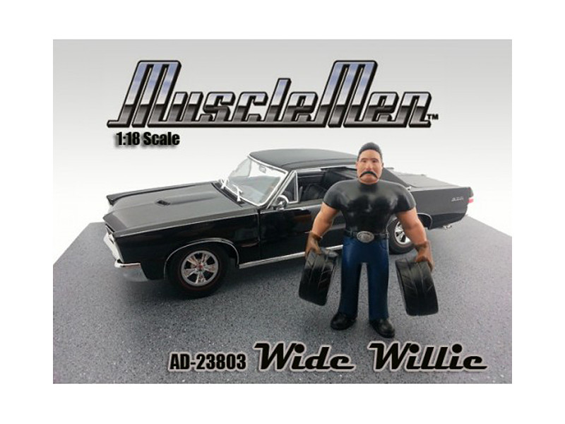 Musclemen Wide Willie Figure for 1:18 Diecast Car Models by American Diorama
