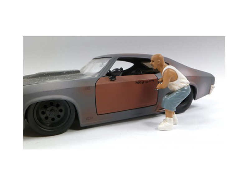 Auto Thief Figure For 1:24 Diecast Car Models by American Diorama