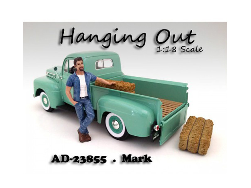 """Hanging Out"" Mark Figure For 1:18 Scale Models American Diorama 23855"
