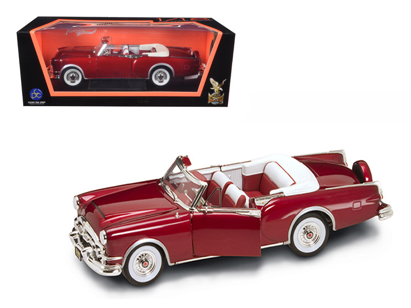 1953 Packard Caribbean Red 1/18 Diecast Model Car Road Signature 92798