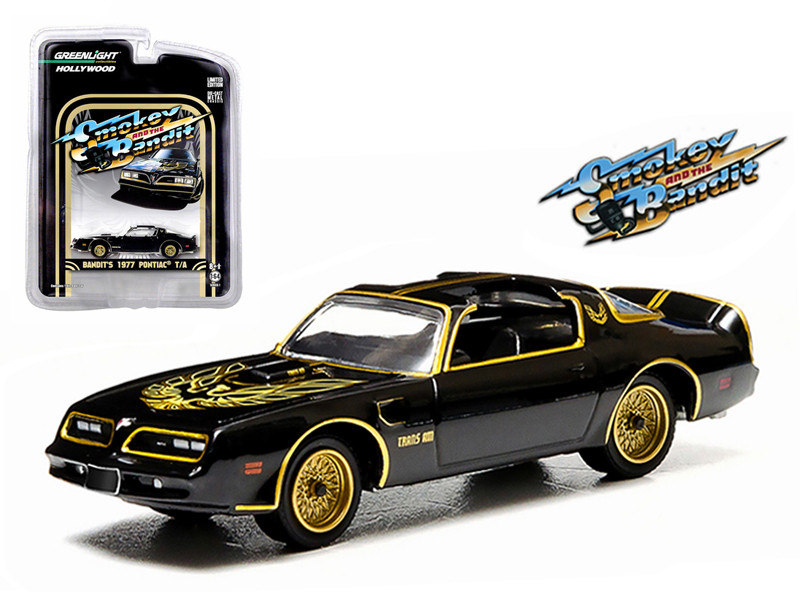 1977 Pontiac Trans Am Smokey and the Bandit 1977 1/64 Diecast Model Car Greenlight 44710 A