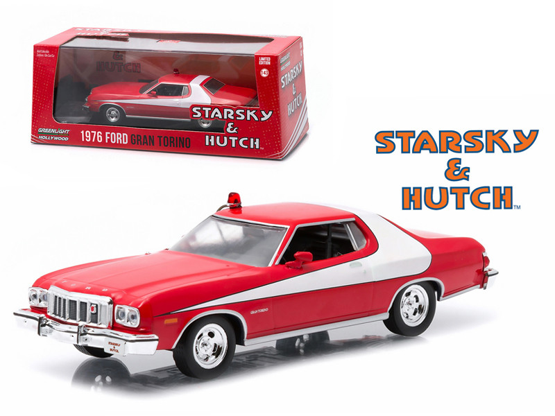 1976 Ford Gran Torino Starsky and Hutch TV Series 1975 1979 1/43 Diecast Model Car Greenlight 86442