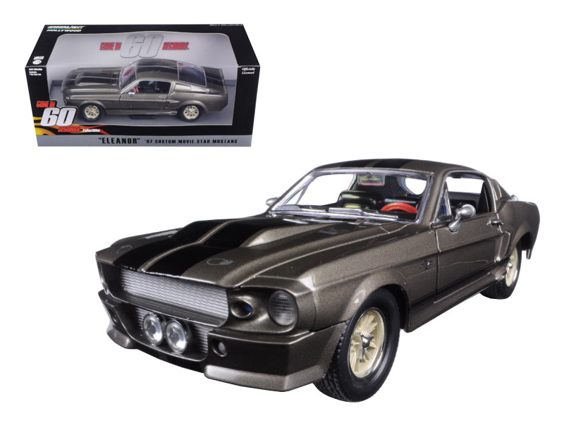 1967 Ford Mustang Custom Eleanor Gone in 60 Seconds 2000 Movie 1/24 Diecast Model Car Greenlight 18220