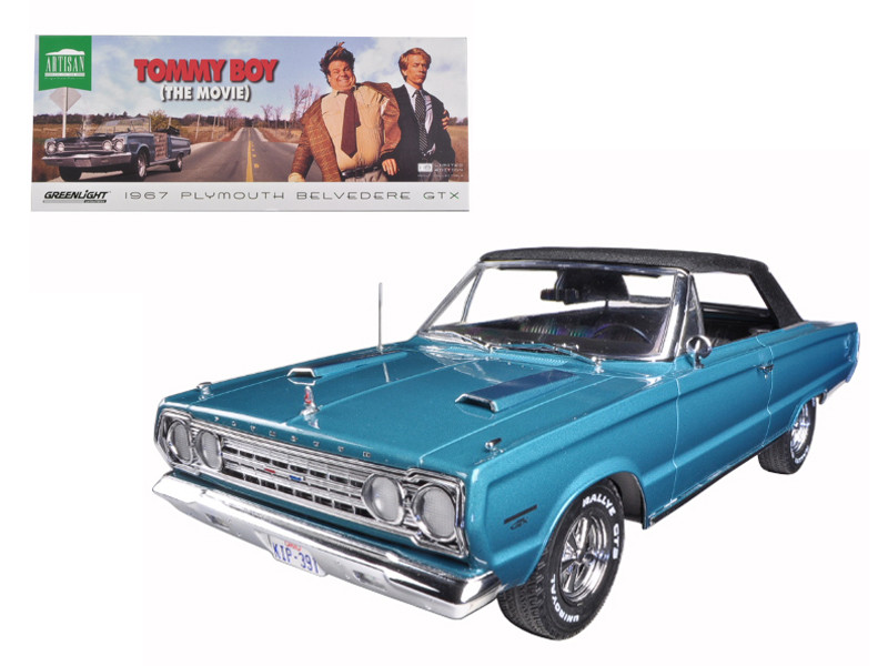 "1967 Plymouth Belvedere GTX ""Tommy Boy"" Movie (1995) 1/18 Diecast Model Car Greenlight 19005"