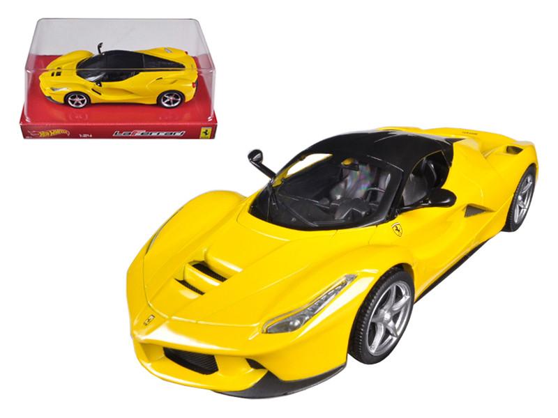 Ferrari Laferrari F70 Hybrid Yellow 1/24 Diecast Car Model by Hotwheels