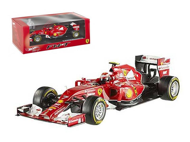 Elite Ferrari F1 F2014 Kimi Raikkonen 1/43 Diecast Car Model Hotwheels BLY70