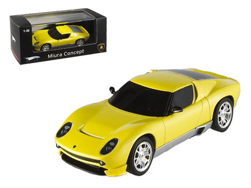 Lamborghini Miura Concept Yellow Elite Edition 1/43 Diecast Model Car by Hotwheels