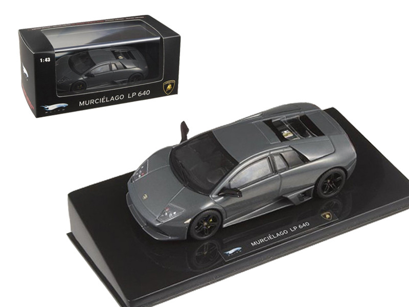 Lamborghini Murcielago LP 640 Gray Elite Edition 1/43 Diecast Model Car by Hotwheels