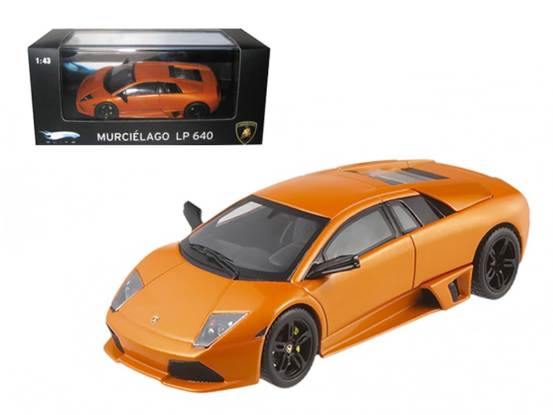 Lamborghini Murcielago LP 640 Orange Elite Edition 1/43 Diecast Model Car by Hotwheels