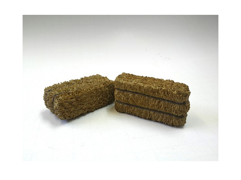 Hay Bale Accessory 2 Pieces Set for 1/24 Scale Models American Diorama 23987