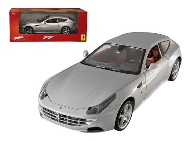 1:43 Hot Wheels Elite Ferrari FF pearl white NEW bei PREMIUM-MODELCARS