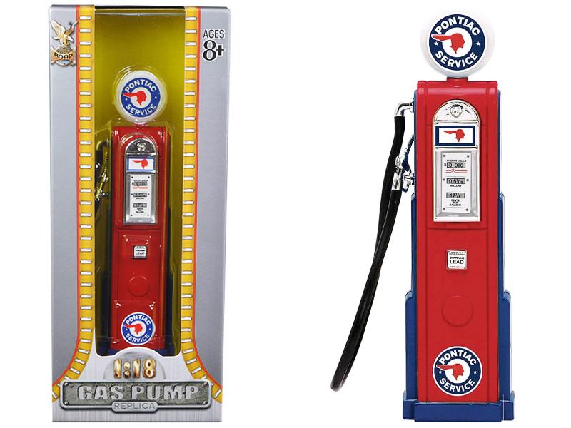 Pontiac Vintage Gas Pump Digital 1/18 Diecast Replica Road Signature 98661
