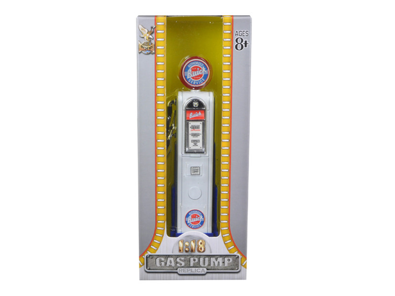 Buick Gasoline Vintage Gas Pump Digital 1/18 Diecast Replica Road Signature 98681