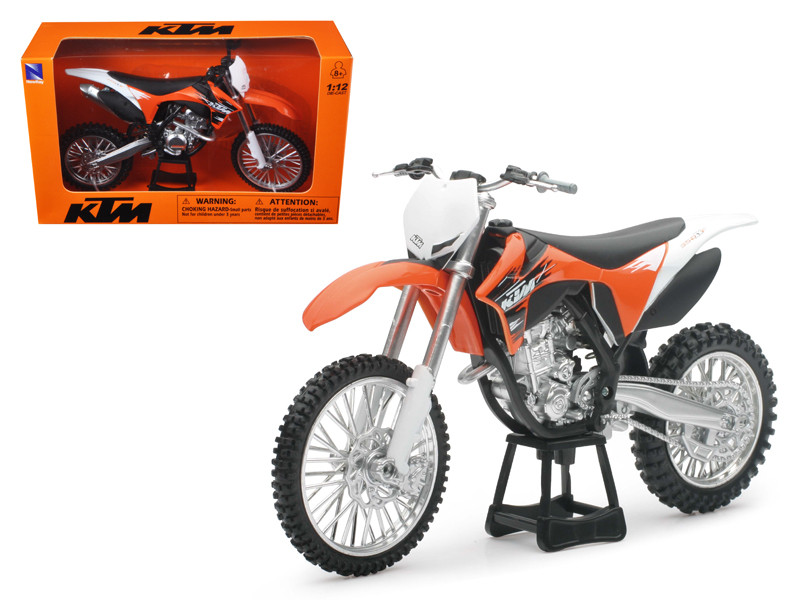 2011 KTM 350 SX-F Orange Dirt Bike Motorcycle 1/12 New Ray 44093