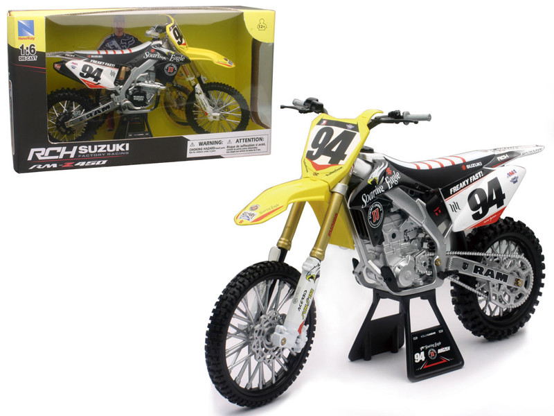 Suzuki RM-Z450 #94 Ken Roczen Dirt Bike Motorcycle 1/6 New Ray NR49523