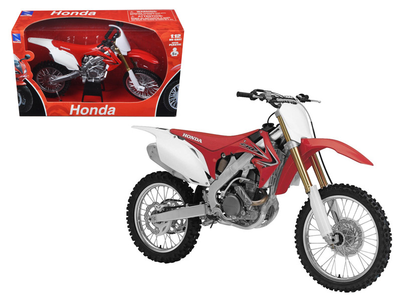 2012 Honda CR 250R Red Motorcycle Model 1/12 New Ray NR57463