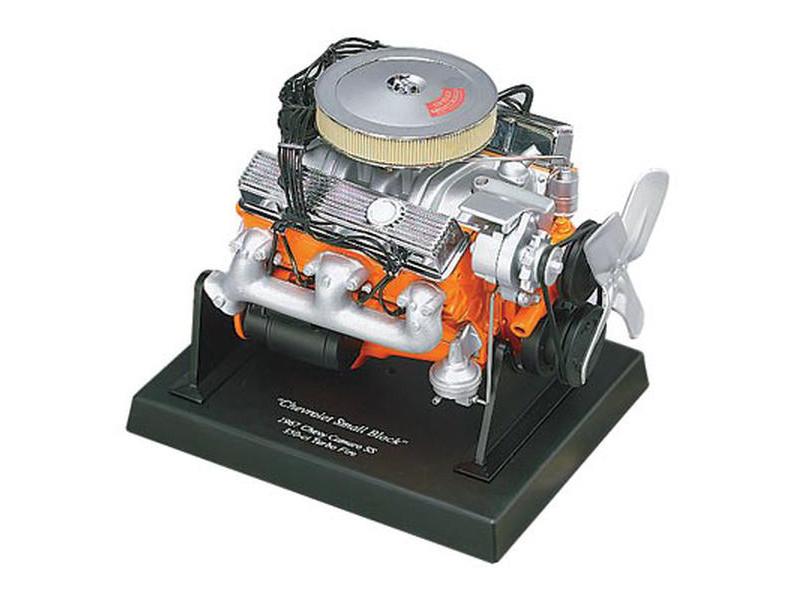 Chevrolet 350 Engine Model 1/6 Diecast Model Liberty Classics 84021