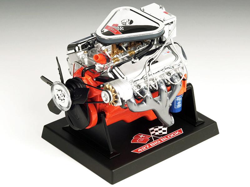 "Chevy Big Block L89 Tri-Power ""Turbo Jet"" 427 Engine Model 1/6 Liberty Classics 84030"