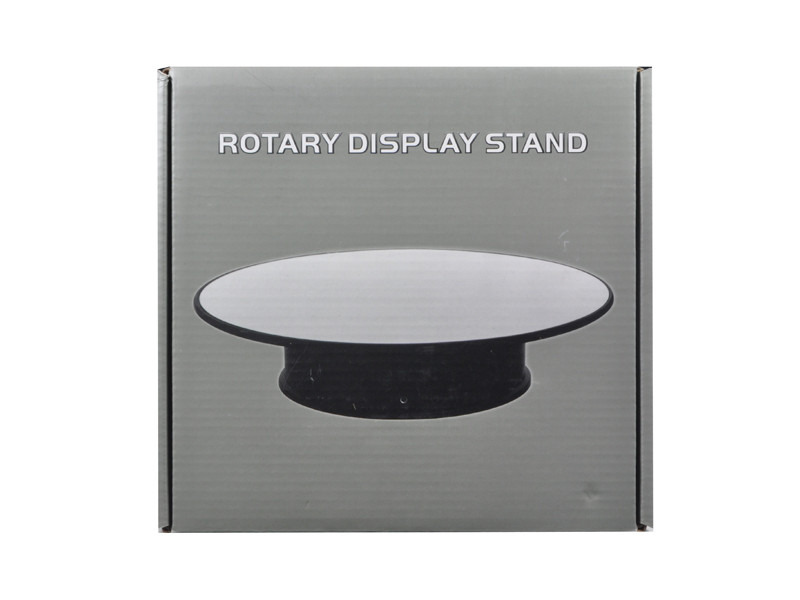 Rotary Display Stand 8\ For 1/24 1/64 1/43 Model Cars With Mirror Top