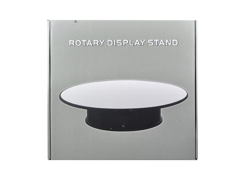 """Rotary Display Stand 12"""" For 1/18 1/24 1/64 1/43 Model Cars With Mirror Top 88012"""