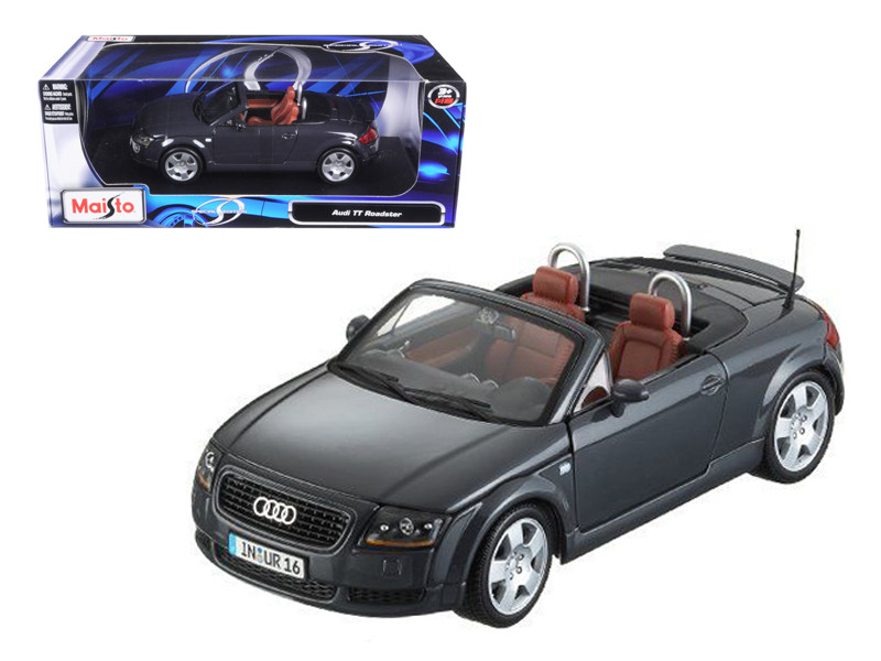 Audi TT Roadster Grey 1/18 Diecast Model Car Maisto 31878