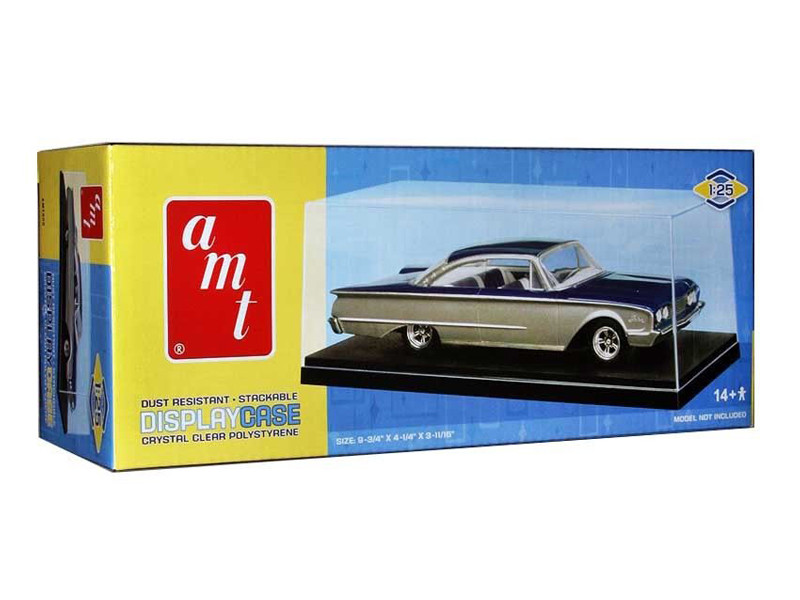 Collectible Display Show Case for 1/25 Scale Model Cars AMT AMT600