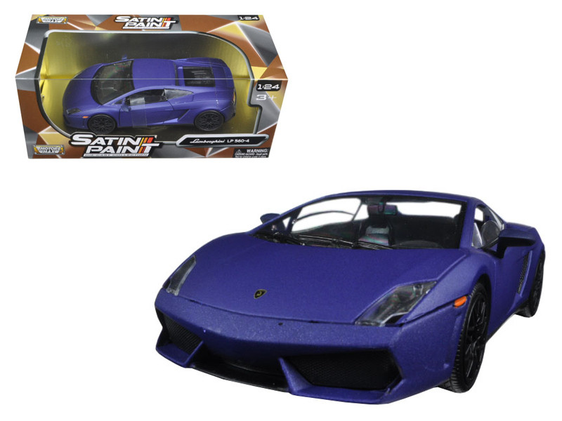 Lamborghini Gallardo LP 560-4 Matt Purple 1/24 Diecast Model Car Motormax 79504