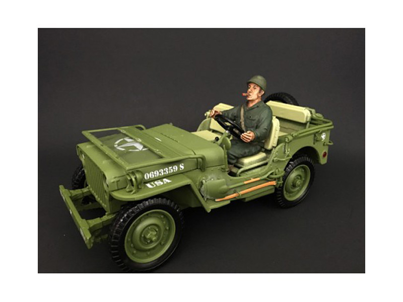 US Army WWII Figure IV For 1:18 Scale Models American Diorama 77413
