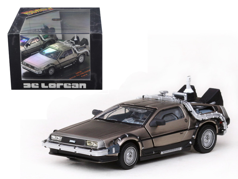 De Lorean Back To The Future Part 2 1/43 Diecast Car Model Vitesse 24010