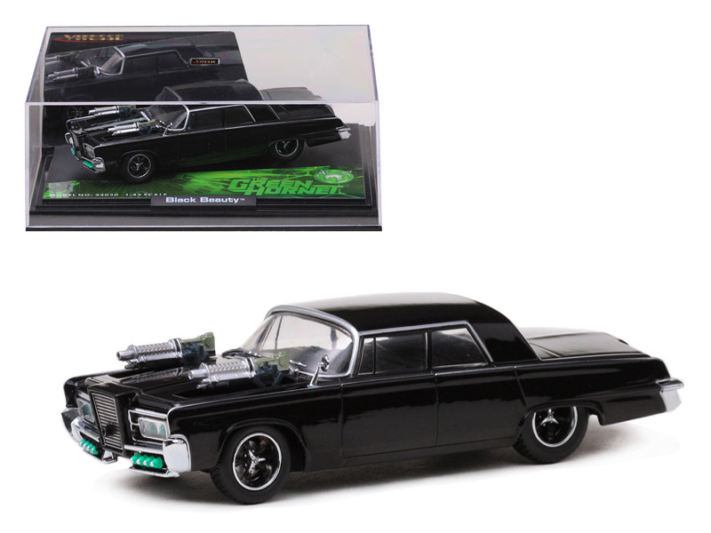 Black Beauty From Movie Green Hornet Diecast Model Car 1/43 Vitesse 24030