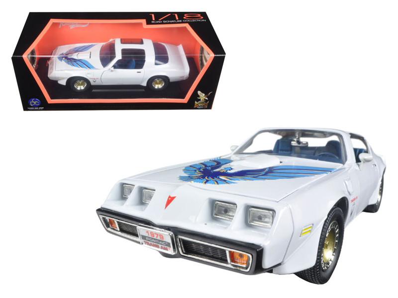1979 Pontiac Firebird Trans Am White 1/18 Diecast Model Car Road Signature 92378