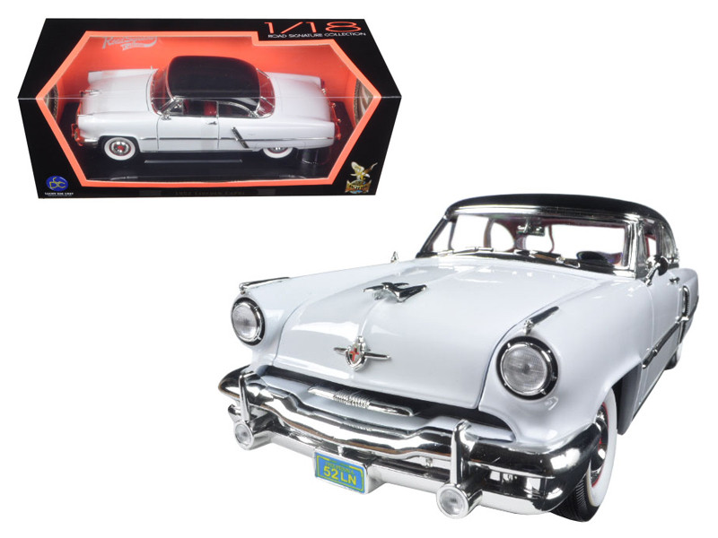 1952 Lincoln Capri White 1/18 Diecast Car Model Road Signature 92808