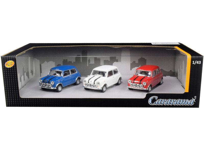 Mini Cooper 3pc Gift Set 1/43 Diecast Model Cars Cararama 35310