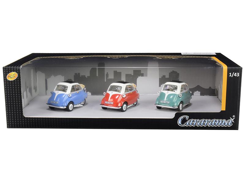 BMW Isetta 3pc Gift Set 1/43 Diecast Model Cars Cararama 35317