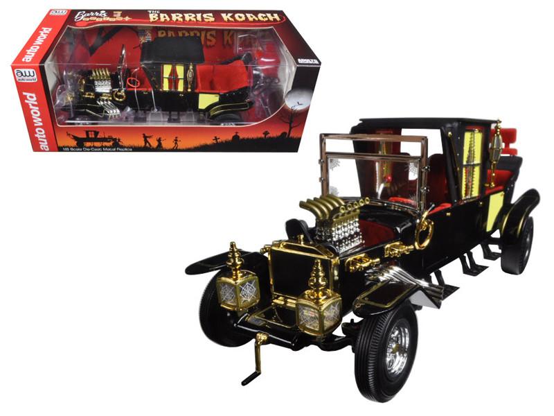 George Barris Munsters Koach 1/18 Diecast Model Car Autoworld AW233