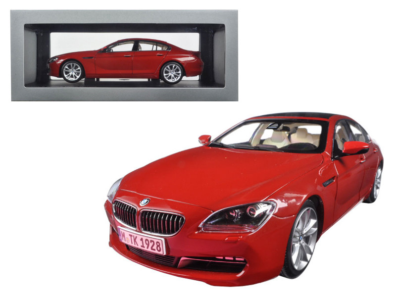 BMW 650i Gran Coupe 6 Series F06 Melbourne Red 1/18 Diecast Model Car Paragon 97033