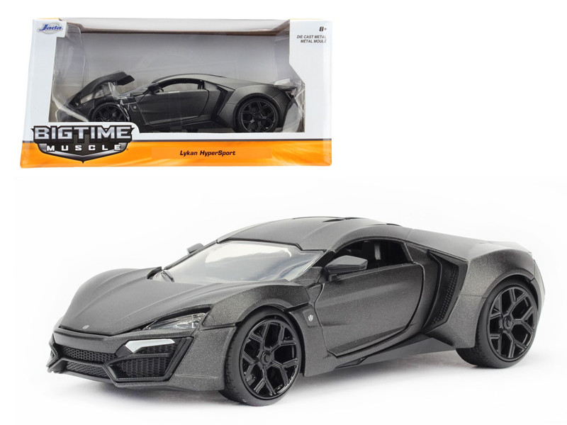 Lykan Hypersport Primer Gray 1/24 Diecast Model Car Jada 98075