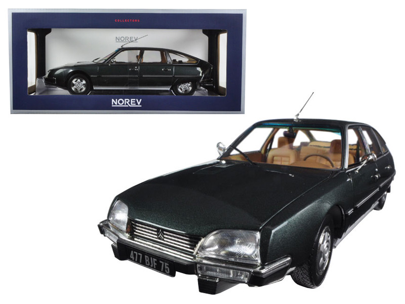 1976 Citroen CX 2200 Pallas Vulcain Grey 1/18 Diecast Model Car Norev 181522