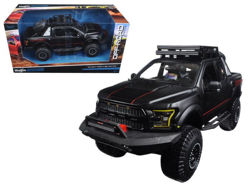 Ford F  Raptor Pickup Truck Matt Black Off Road Kings