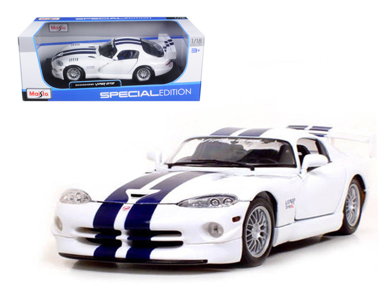 Dodge Viper GT2 1/18 Diecast Model Car Maisto 31845