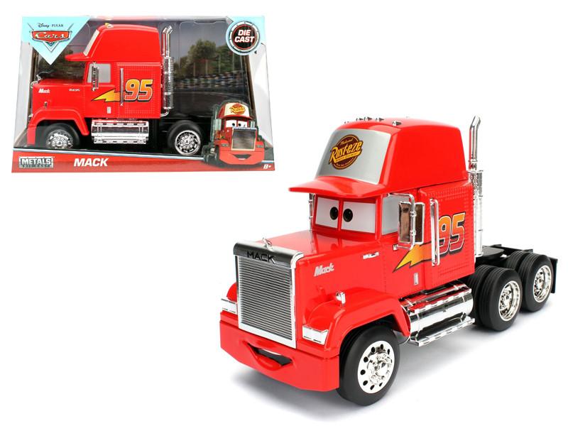 Disney Pixar Mack Trailer Cars Movie 1/24 Diecast Model Jada 98103