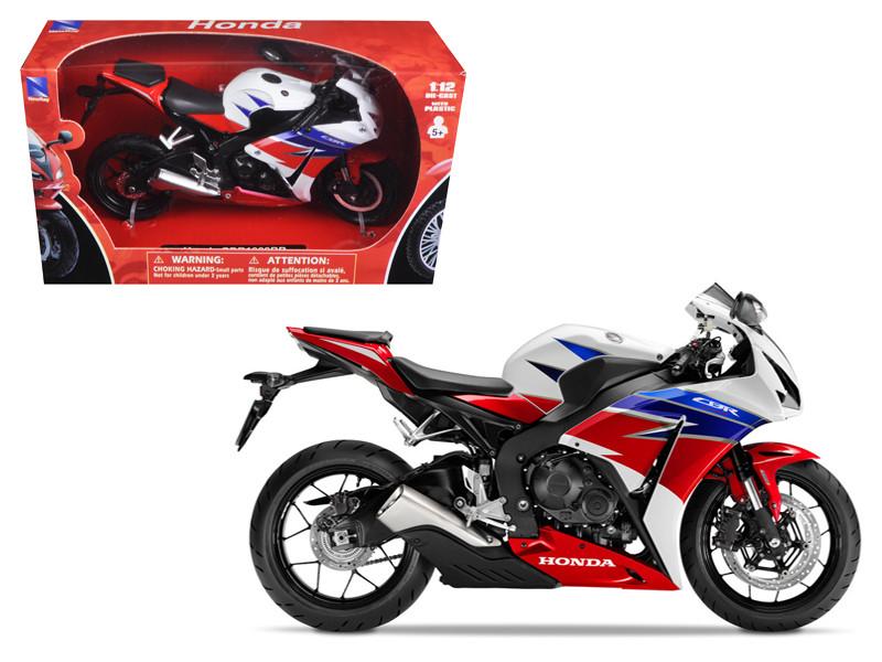 2016 Honda CBR100RR Red White Blue Black Motorcycle Model 1/12 New Ray 57793