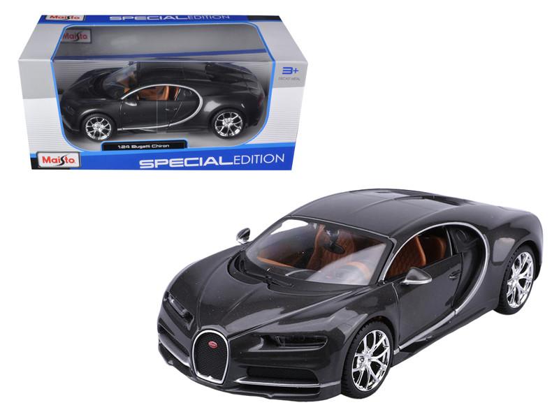 Bugatti Chiron Grey 1/24 Diecast Model Car Maisto 31514