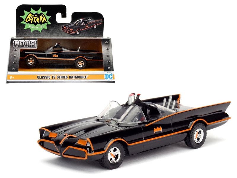 1966 TV Series Classic Batman Batmobile 1/32 Diecast Model Car Jada 98225