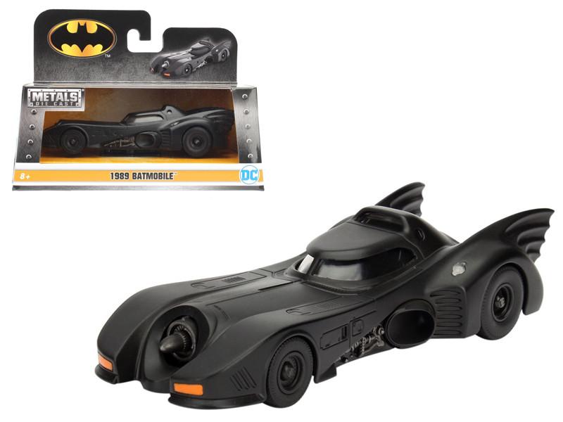 1989 Batman Batmobile 1/32 Diecast Model Car Jada 98226