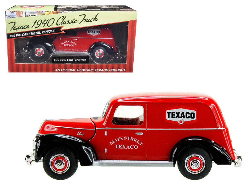 1940 Ford Panel Van Texaco Red 1/32 Diecast Model Car Beyond Infinity 0611